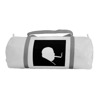 Smoking Gangster Duffle Gym Bag