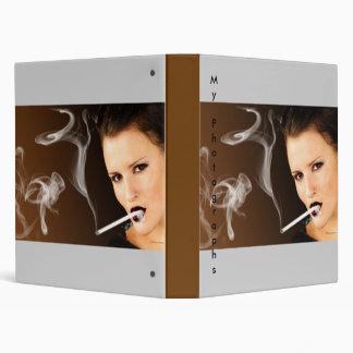 Smoking Girl - 120 ml Vinyl Binder