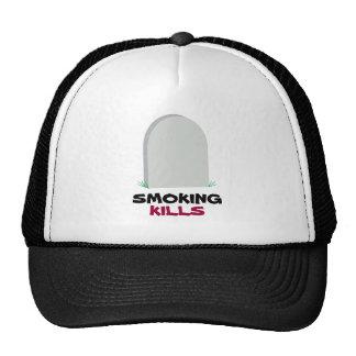 SMOKING, KILLS TRUCKER HAT