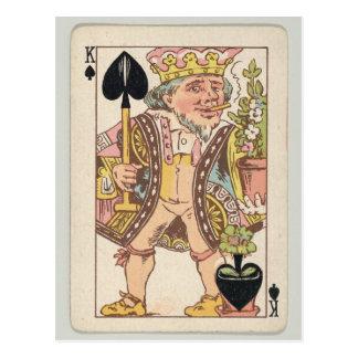Smoking King Tobacco Plant Playing Card Ephemera