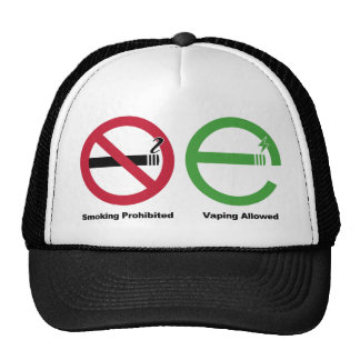 Smoking Prohibited. Vaping Allowed Trucker Hat