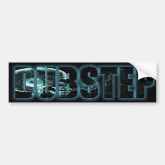 Smoking Skull DubStep Sticker Bumper Sticker