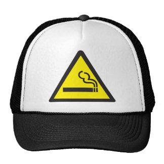 Smoking Smoker Sign Trucker Hats