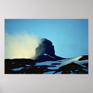 Smoking Snows Poster