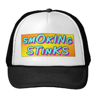 Smoking Stinks Trucker Hat