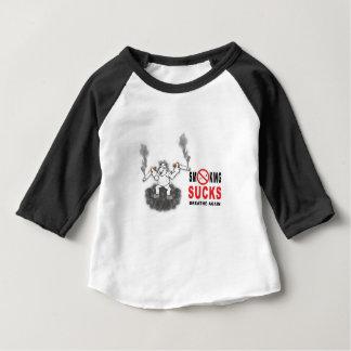 SMOKING SUCKS STOP BABY T-Shirt