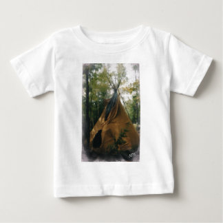 Smoking Tipi Baby T-Shirt