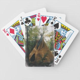 Smoking Tipi Bicycle Playing Cards
