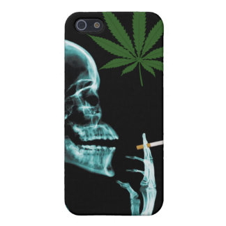 smoking weed to death iPhone 5 cases