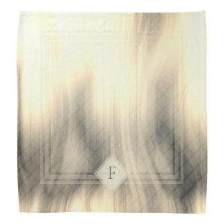 Smoky & Faded Abstract Monogram | Bandana
