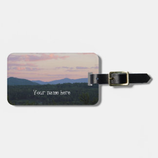 Smoky Mountain at Sunset Luggage Tag