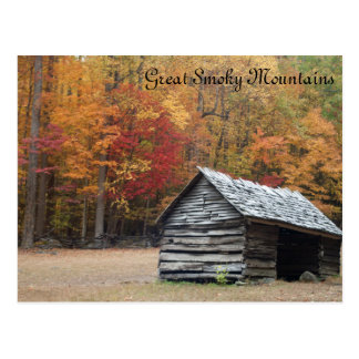 Smoky Mountain fall Postcard