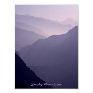 Smoky Mountain Haze Poster