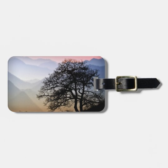 Smoky Mountain Sunset from the Blue Ridge Parkway Luggage Tag