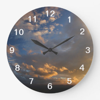 Smoky Mountain Sunset Wallclocks