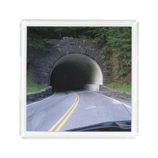 Smoky Mountain Tunnel Acrylic Tray
