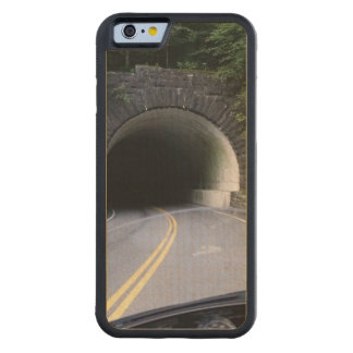 Smoky Mountain Tunnel Carved Maple iPhone 6 Bumper Case