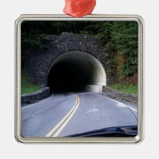 Smoky Mountain Tunnel Metal Ornament