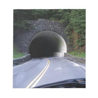 Smoky Mountain Tunnel Notepad