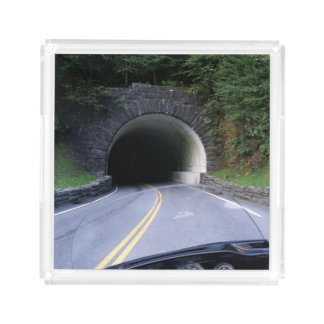 Smoky Mountain Tunnel Serving Tray