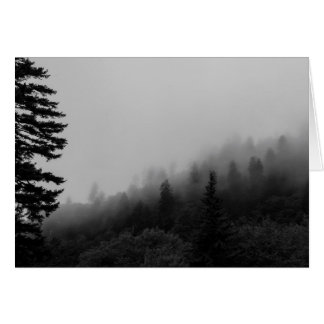 Smoky Mountains Blank Greeting Cards