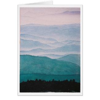 smoky mountains card