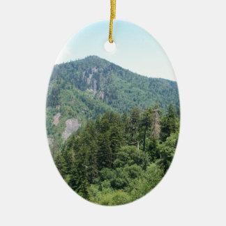 Smoky Mountains Ceramic Ornament