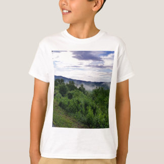 Smoky Mountains in The Great Smoky Mountains T-Shirt