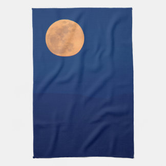 Smoky Mountains Moon Rise Kitchen Towel