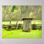 Smoky Mountains Outhouse