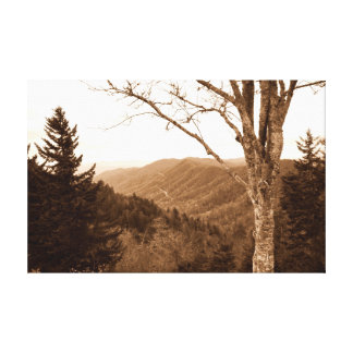 Smoky Mountains Tennessee Canvas Print