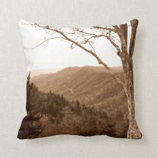 Smoky Mountains Tennessee Pillow