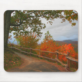 Smoky Mountains Trail Mouse Pad