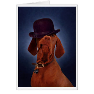 Smoky Pete greeting card