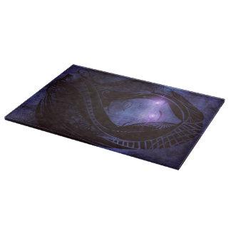 Smoldering gaze cutting board