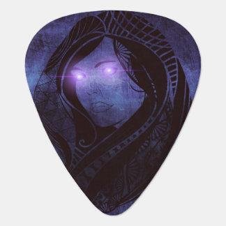 Smoldering gaze guitar pick