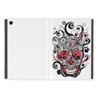 Smoldering Skull iPad Case