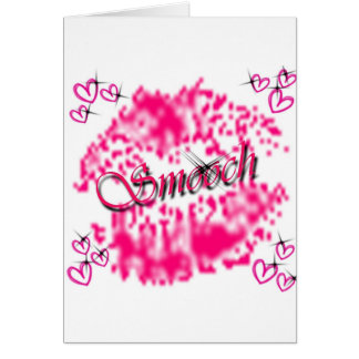 Smooch Card
