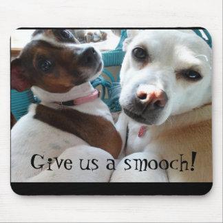 Smoochy Dogs Mousepad