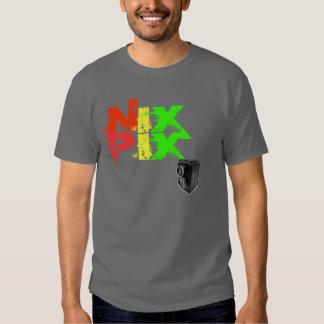 SMOOSHED NIX PIX w/ vintage camera T Shirt