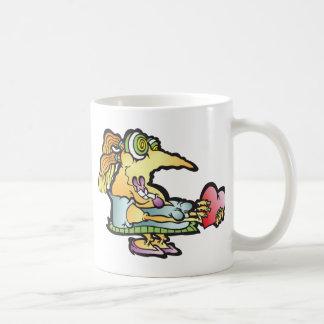 smooshy-wooshy classic white coffee mug