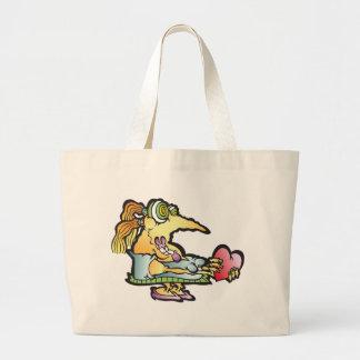 smooshy-wooshy jumbo tote bag