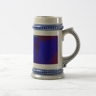 Smooth and Clear-Cut Abstract Painting Mug