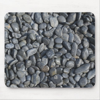 Smooth Black Pebbles Mouse Pad