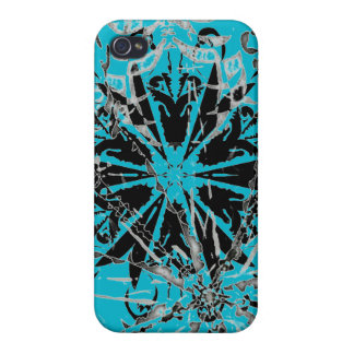 Smooth Blue iPhone hard case Covers For iPhone 4
