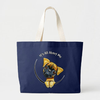 Smooth Brussels Griffon IAAM Large Tote Bag