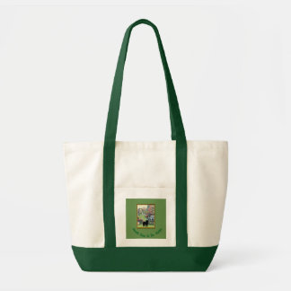 Smooth Chow In The Garden  Tote Bag
