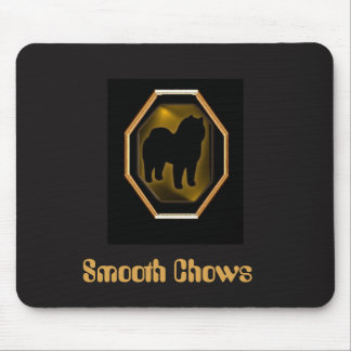 Smooth Chow Mouse Pad