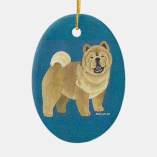 Smooth Chow Ornament