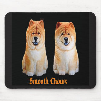 Smooth Chows Mouse pad